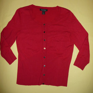 White House Black Market RED sweater